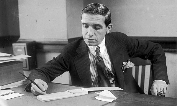 Charles Ponzi (Wikipedia) - he could probably spot the signs of pyramid schemes and Ponzi schemes, but who knows?
