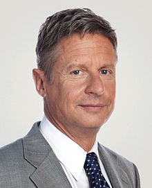 Picture of Gary Johnson, who could have been a Republican Protest Vote