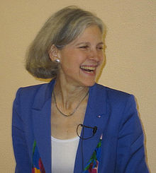 Picture of Jill Stein, who could have been a Democratic Protest Vote