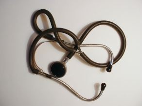 Picture of a stethoscope