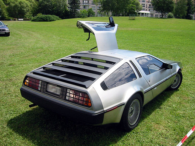 DeLorean illustrating automatic enrollment.