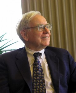 Is a million dollars enough? Picture of Warren Buffett