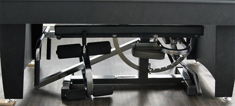 Ironmaster Super Bench and Attachments Storage