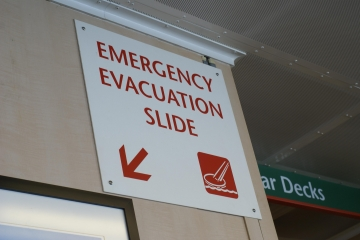 Emergency funds don't come with a slide.