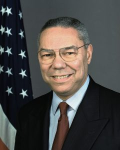 Faithless electors gave Colin Powell three votes.