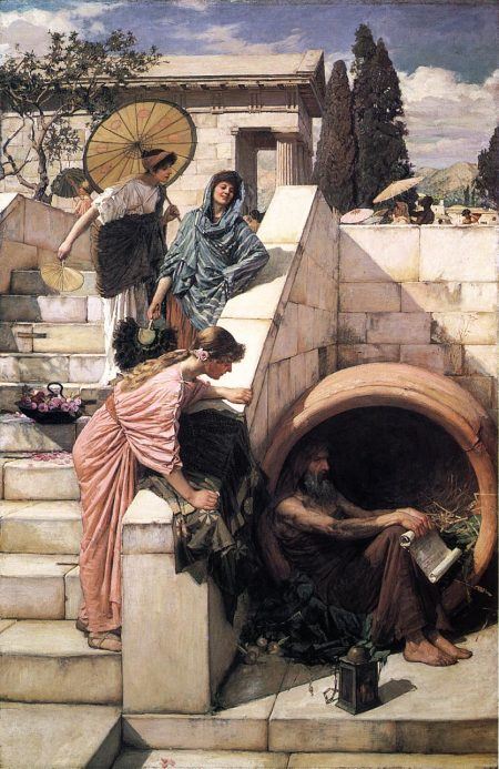 Diogenes lived in a barrel but still knew survivorship bias when he saw it.