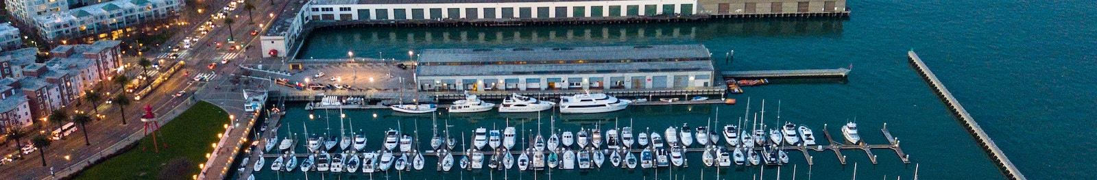 Marina and a number of yachts